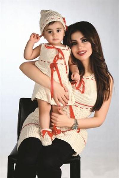 حليمة بولند وابنتها ماريا الأم