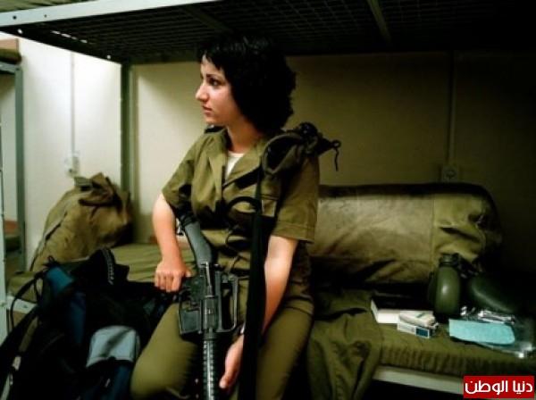 مجندات الجيش الإسرائيلي حدود قطاع 3909928098.jpg