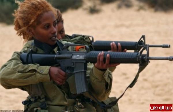 مجندات الجيش الإسرائيلي حدود قطاع 3909928104.jpg