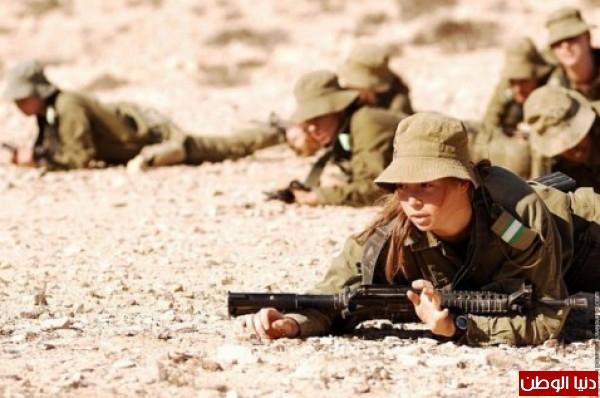 مجندات الجيش الإسرائيلي حدود قطاع 3909928105.jpg