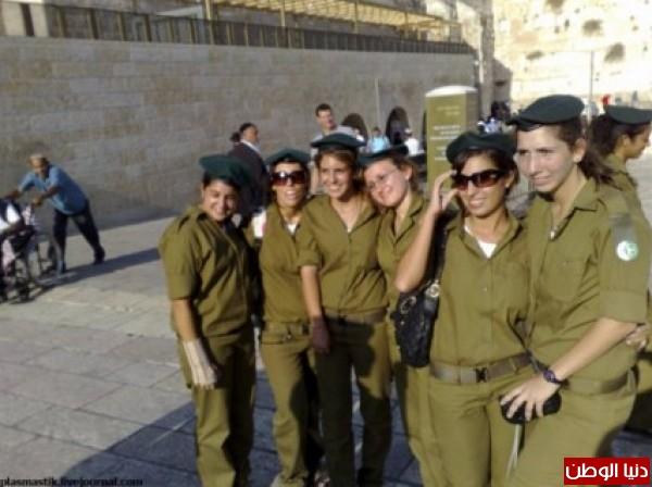 مجندات الجيش الإسرائيلي حدود قطاع 3909928106.jpg