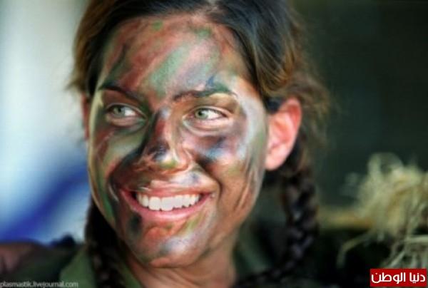 مجندات الجيش الإسرائيلي حدود قطاع 3909928107.jpg
