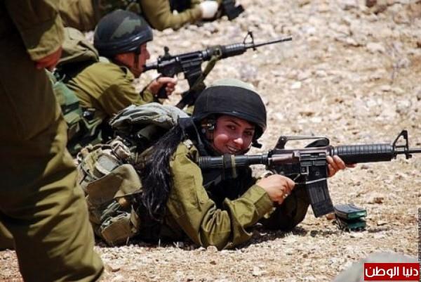 مجندات الجيش الإسرائيلي حدود قطاع 3909928108.jpg