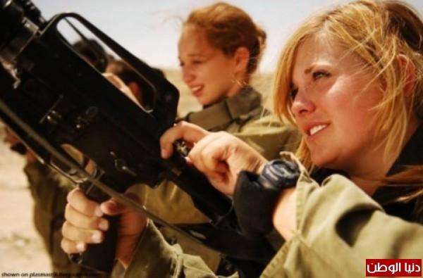 مجندات الجيش الإسرائيلي حدود قطاع 3909928113.jpg