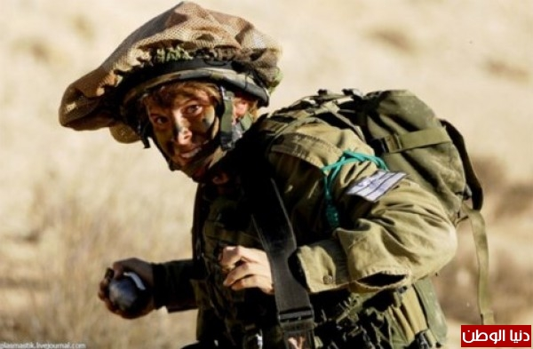 مجندات الجيش الإسرائيلي حدود قطاع 3909928131.jpg