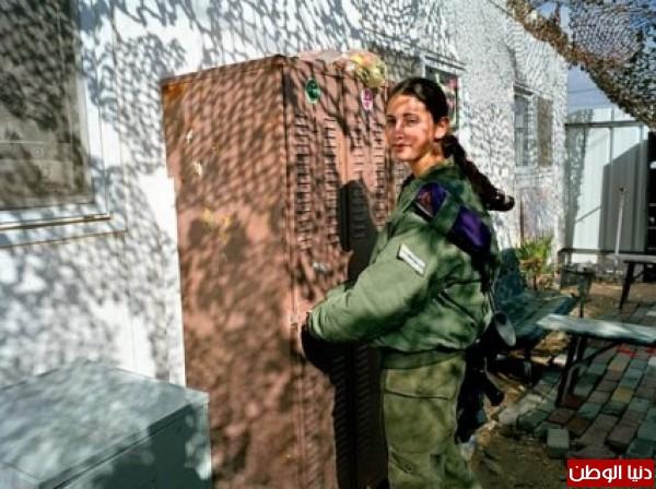 مجندات الجيش الإسرائيلي حدود قطاع 3909928133.jpg