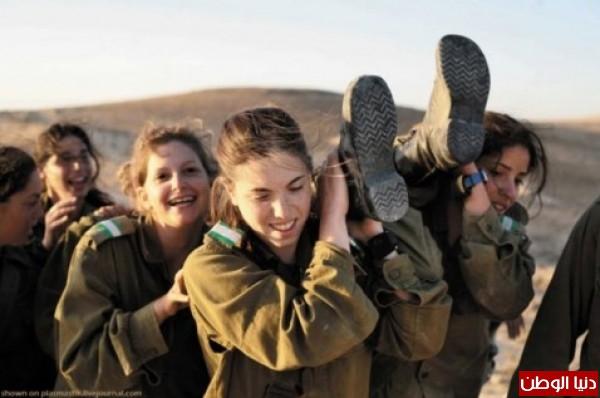 مجندات الجيش الإسرائيلي حدود قطاع 3909928141.jpg