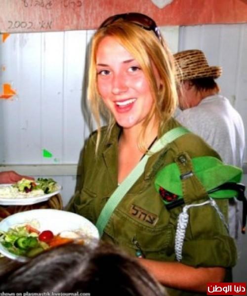 مجندات الجيش الإسرائيلي حدود قطاع 3909928145.jpg
