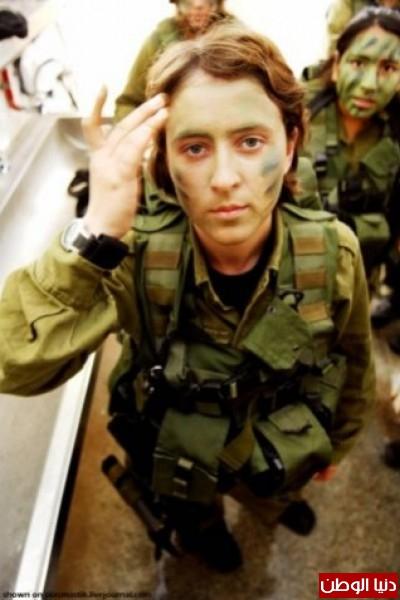 مجندات الجيش الإسرائيلي حدود قطاع 3909928151.jpg