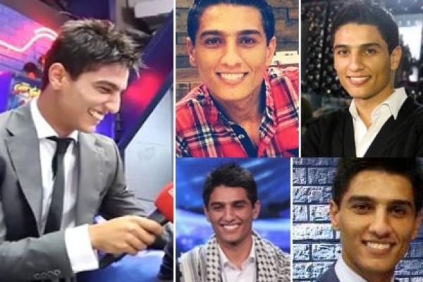 بالصور:ابتسامة محمد عساف الهوليوودية تأسر