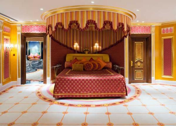 الجناح الملكي فندق العرب بدبي