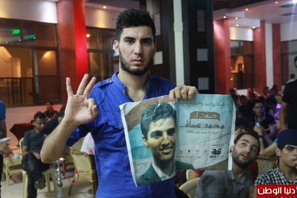 """كيف تابع الغزازوة """"آراب آيدول"""" .. شاهد بالصور"""