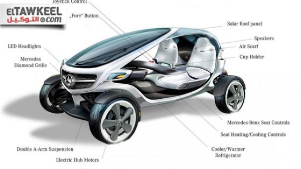 مرسيدس-بنز تصمم سيارة خاصة لرياضة