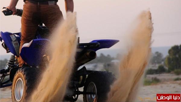استعراضات لعشاق الدراجات النارية بغزة 3909989693.jpg