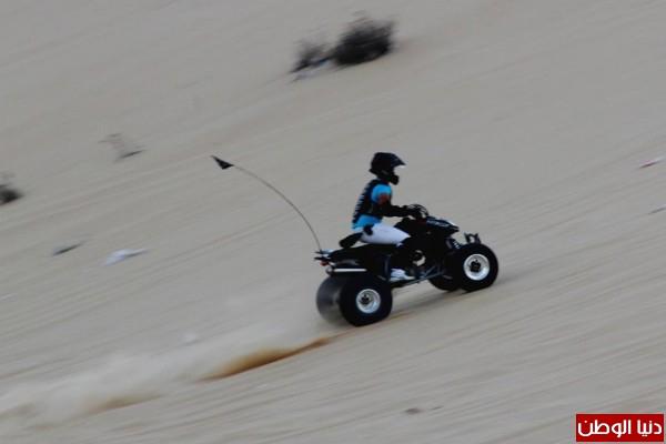 استعراضات لعشاق الدراجات النارية بغزة 3909989698.jpg