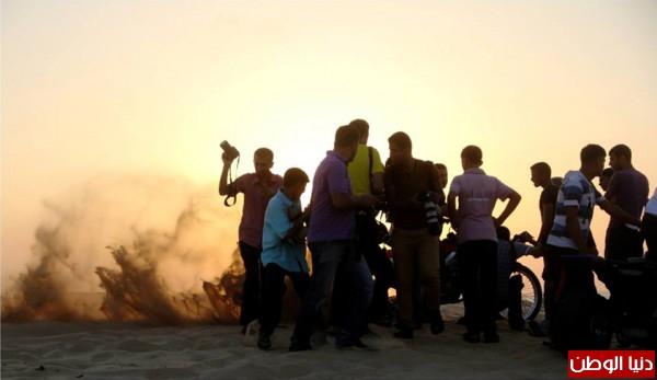 استعراضات لعشاق الدراجات النارية بغزة 3909989704.jpg
