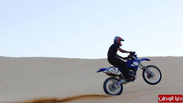 استعراضات لعشاق الدراجات النارية بغزة 3909989705.jpg
