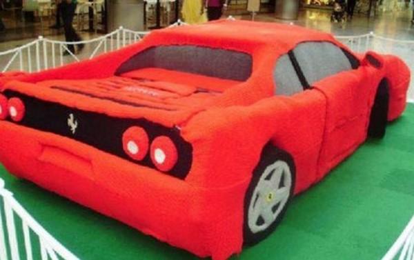 سيارة فراري الكروشيه2014- فتاة تصنع 3909991290.jpg