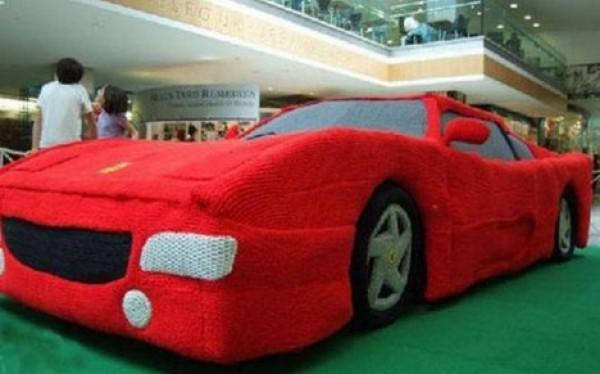 سيارة فراري الكروشيه2014- فتاة تصنع 3909991291.jpg