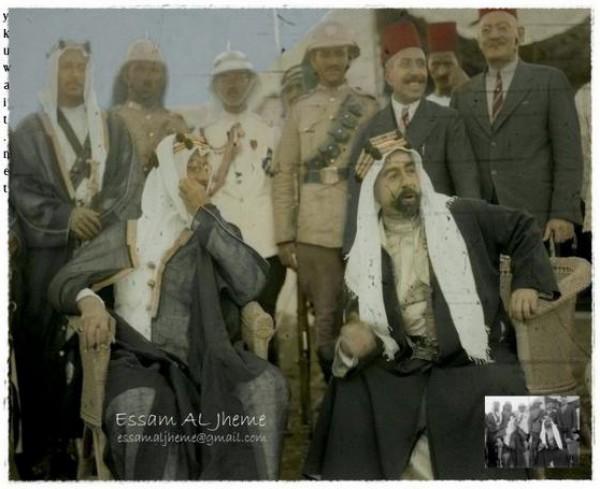 3910018863 صور نادرة للملك عبد العزيز بن عبد الرحمن بن فيصل ال سعود وابناءه