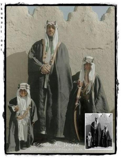 3910018872 صور نادرة للملك عبد العزيز بن عبد الرحمن بن فيصل ال سعود وابناءه
