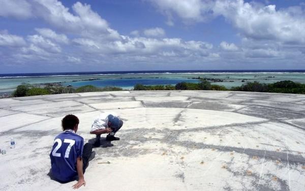 الجزر المرجانية, جزيرةإينويتاك,السياحة في جزر المحيط الهادي,الجزر المشعة,