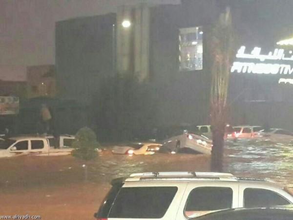 3910032205 صور سيول و امطار السعودية اليوم