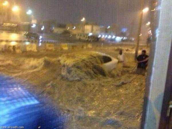 3910032208 صور سيول و امطار السعودية اليوم