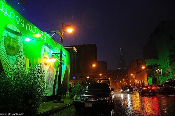 3910032209 صور سيول و امطار السعودية اليوم