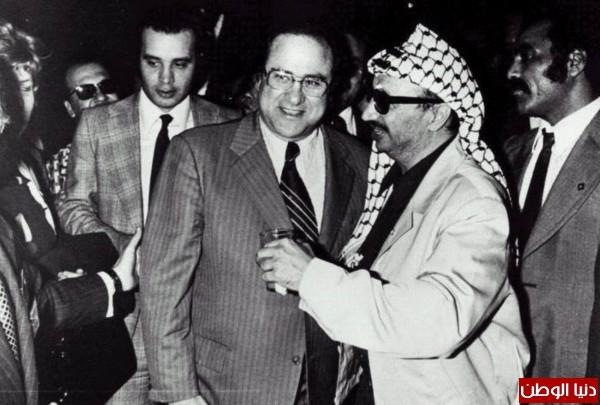 نادرة للزعيم الراحل ياسر عرفات
