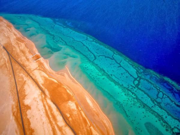 3910053683 صورة مدينة دبي من اعلي من السماء