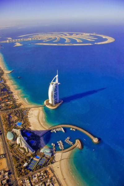3910053695 صورة مدينة دبي من اعلي من السماء