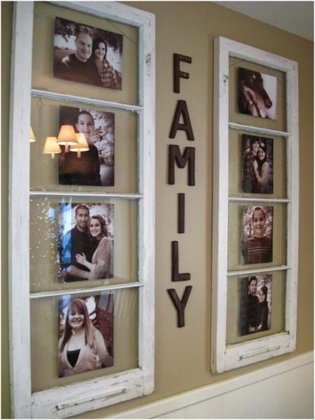 10 أفكار مبتكرة لتزيين جدران المنزل بصور العائلة  3910114139