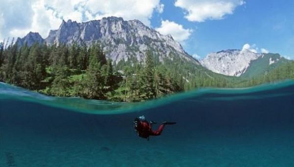 البحيرة الخضراء في النمسا - صور البحيرة الخضراء في ستيريا بالنسما - السياحة في النمسا