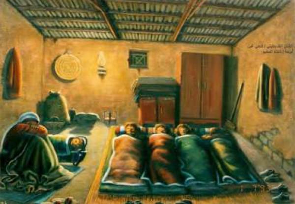 حائز على جوائز عالمية .. أبرز رسام فلسطيني يعيش ظروف صعبة في غزة 3910121484