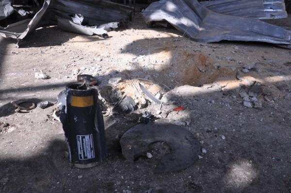 بالصور: خسائر كبيره آثار الغارات 3910134213.jpg
