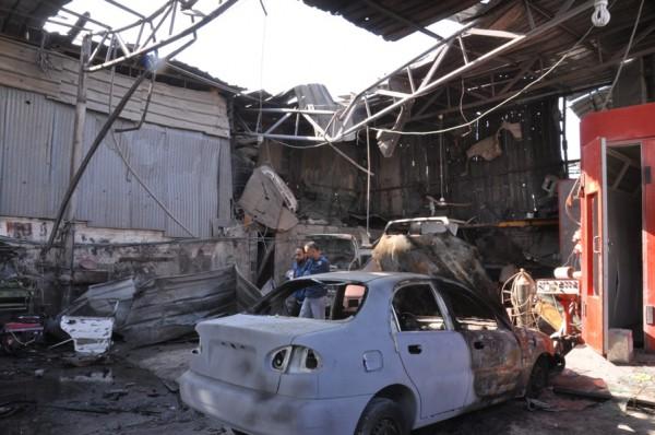 بالصور: خسائر كبيره آثار الغارات 3910134219.jpg