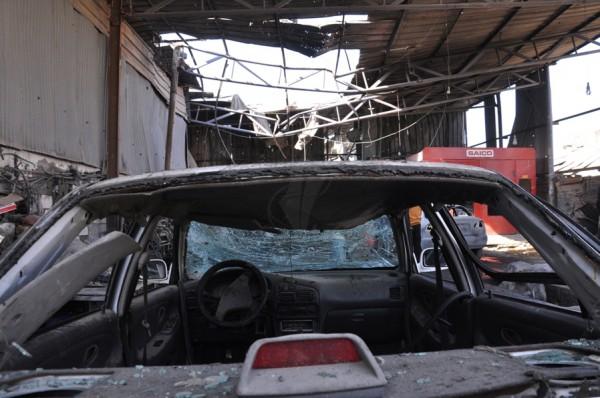 بالصور: خسائر كبيره آثار الغارات 3910134220.jpg