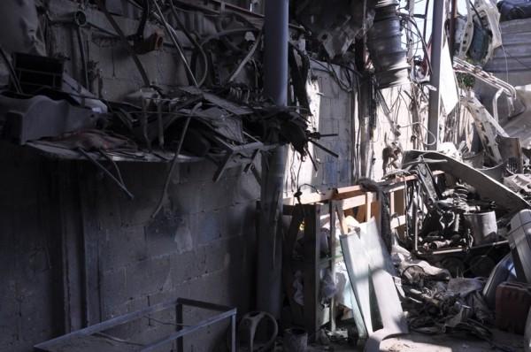 بالصور: خسائر كبيره آثار الغارات 3910134222.jpg