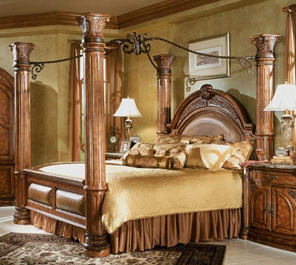 الفخامة الرومنسية بغرفة نومك السرير 3910159126.jpg
