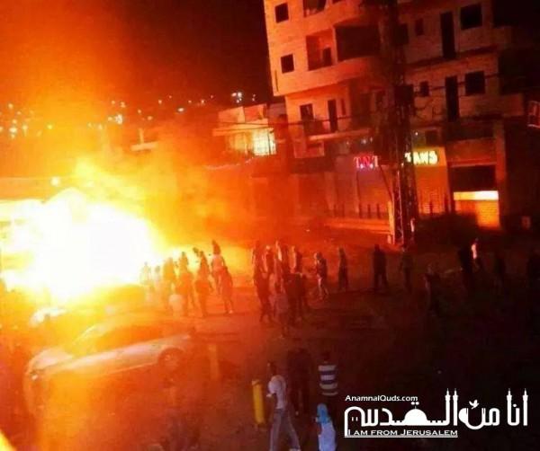 حرب شوارع حقيقية في أحياء القدس:طعن شرطي إسرائيلي وحريق ضخم في متحف روكفلر   3910211673