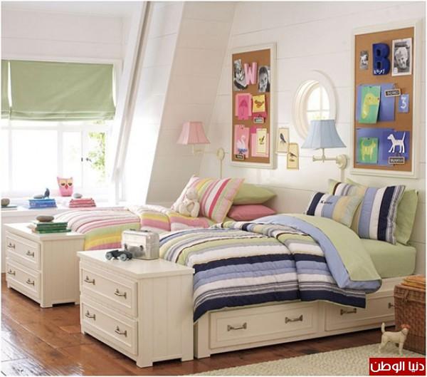 10 أفكار لتنظيم غرفة الأطفال | دنيا الوطن