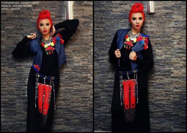 أحدث الموديلات لأزياء المحجبات أزياء بنكهة مختلفة 2021