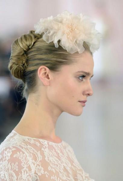 تسريحات شعر 2019 للعرائس  مناسبة 17