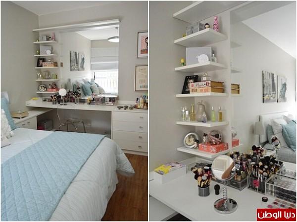بالصور 10 أفكار لإضافة زاوية للمكياج في غرفة النوم دنيا