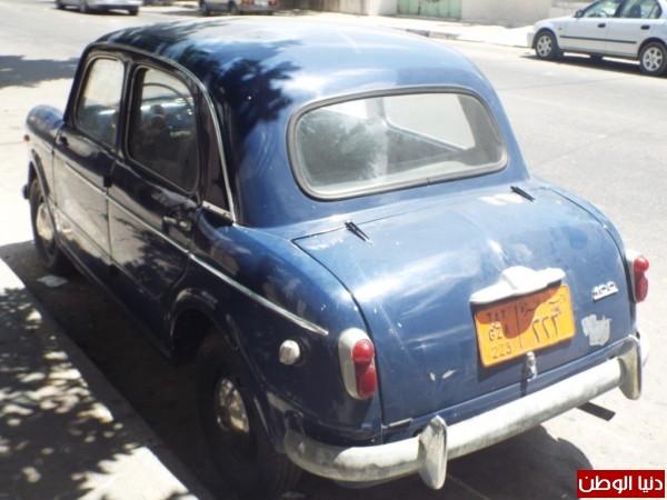 صور أقدم سيارة في غزة دفنها صاحبها لمدة 50 عاما خوفا