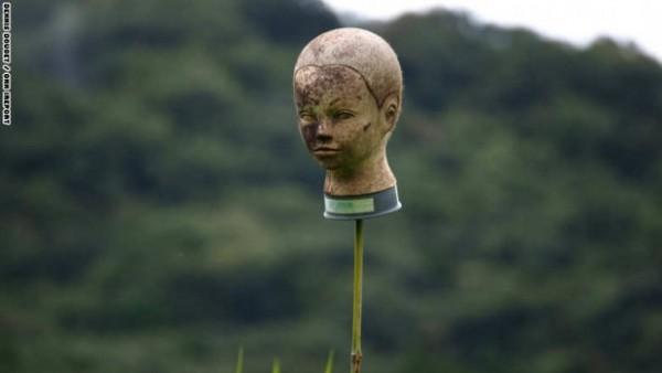 هذا ما يستخدمه المزارعون في اليابان لإخافة الطيور ... والبشر 3910471987.jpg