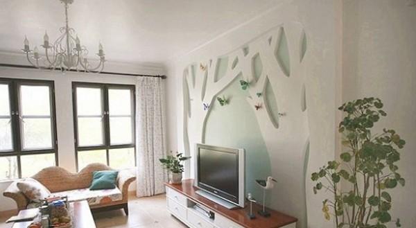أفكار لعرض تلفزيون الحائط بطريقة
