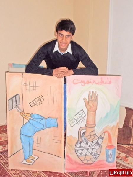 بالصور الفنان بردع موهبة من تحت الركام صحيفة فنون الخليج