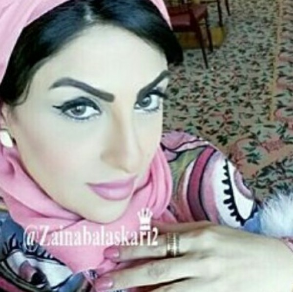 a8f4379853b02 حاجبا زينب العسكري يثيران استياء معجبيها .. صور - منتديات درر العراق